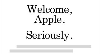 welcome_apple
